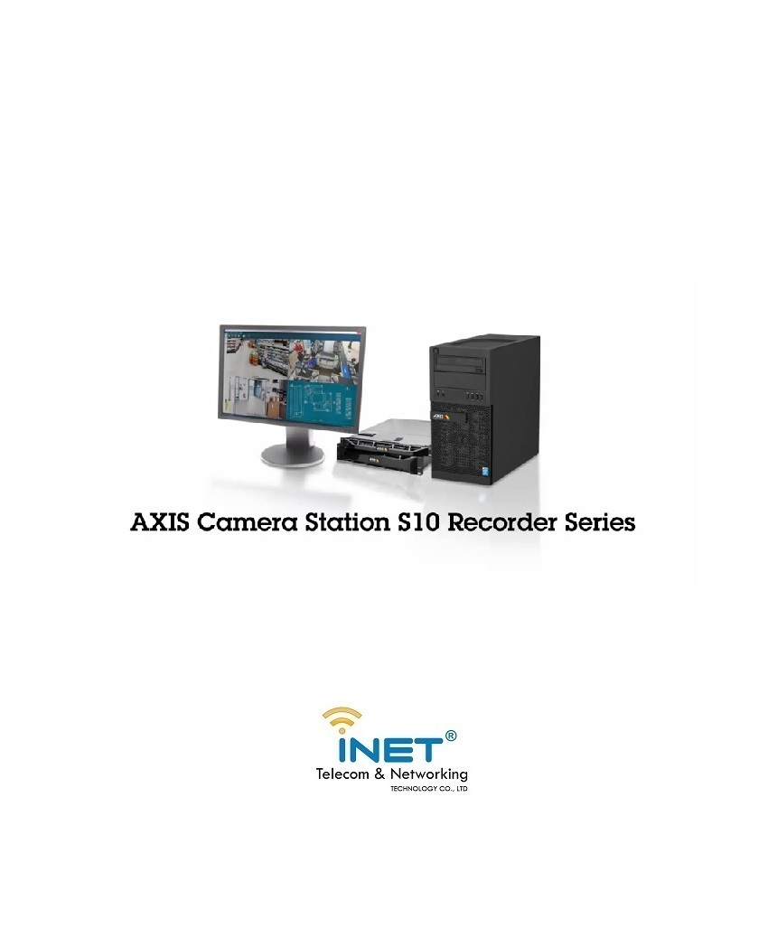AXIS Camera Station S10 Recorder Series