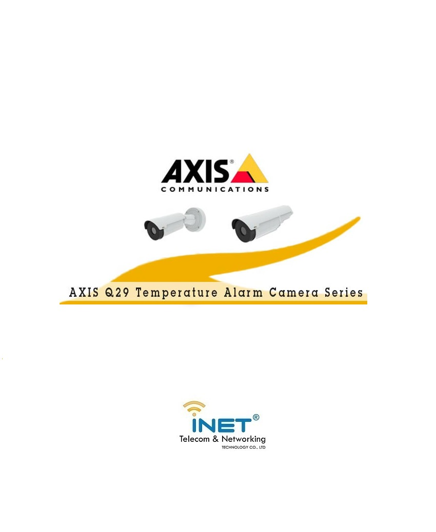 AXIS Q29 Temperature Alarm Camera Series